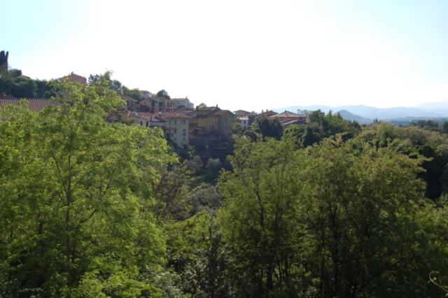 Panoramica dalla chiesa
