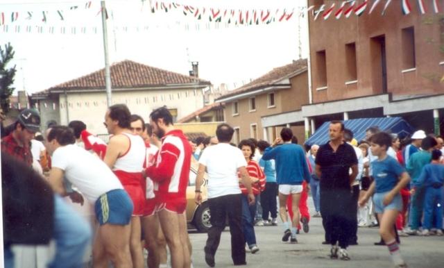 la Prima marcia dell'Alpin 1984